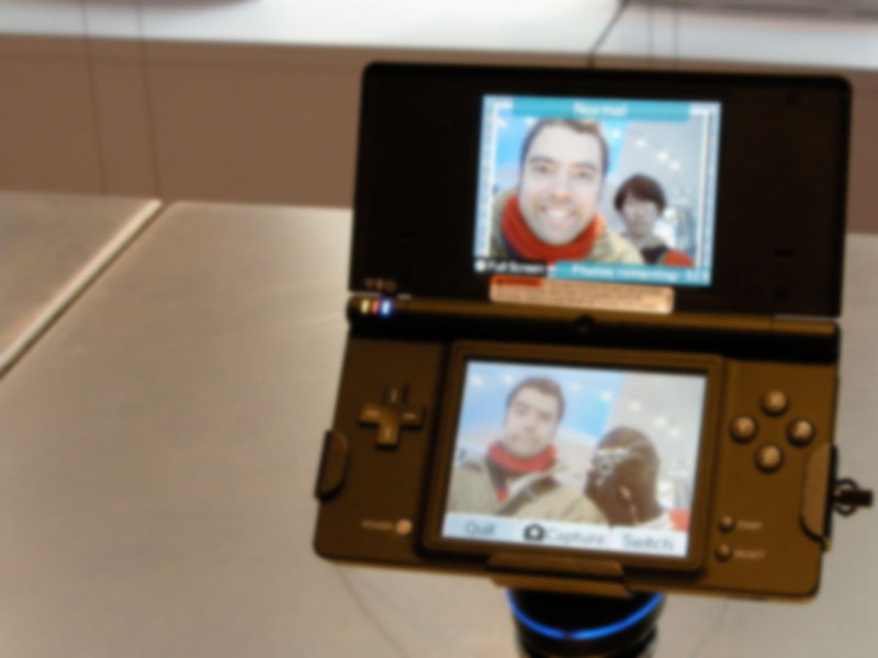 Eric Zamzow on Nintendo DS camera